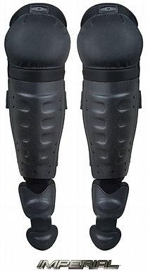 DSG100 IMPERIAL Hard Shell Knee/Shin Guards w/ Non-slip Knee Caps