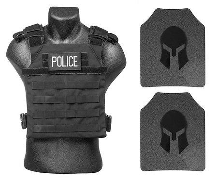 Spartan AR500 Omega Active Shooter Kit/Police Tactical Gear