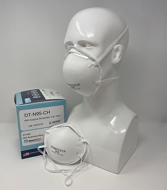 DemeTECH N95 Respirator CUP Style