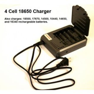 4 Cell 18650 Charger