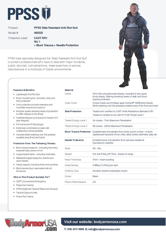 400332 - Stab Resistant Anti Riot Suit.p