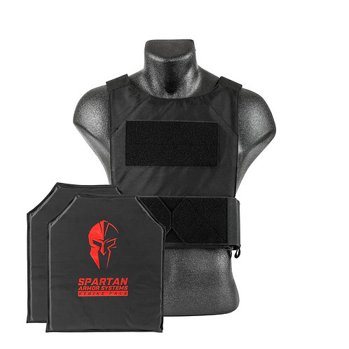 Spartan Flex Fused Core IIIA Soft Body Armor & DL Concealment Carrier