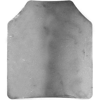 Spartan AR500 Omega Raw Steel 10x12 Shooters Cut Single Plate
