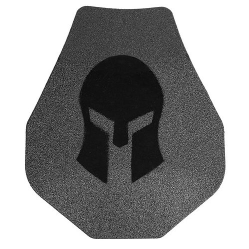 Spartan AR550 Swimmers Cut 10x12 Body Armor Set Of Two