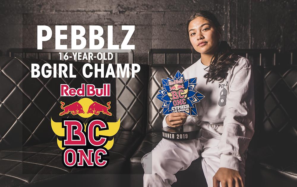 Pebblz 16-year-old bgirl Champ