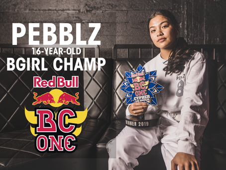 Meet Pebblz, 16-year-old B-Girl Champ of Red Bull BC One LA