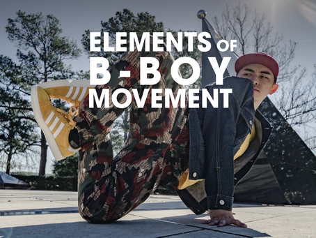 Elements of Movement in Bboying