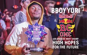 Bboy Yuri Los Angeles Bboy Champion, high hopes for the future