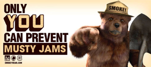 only you can prevent musty jams