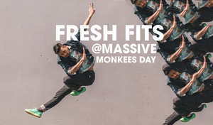 Fresh Fits at Massive Monkees Day