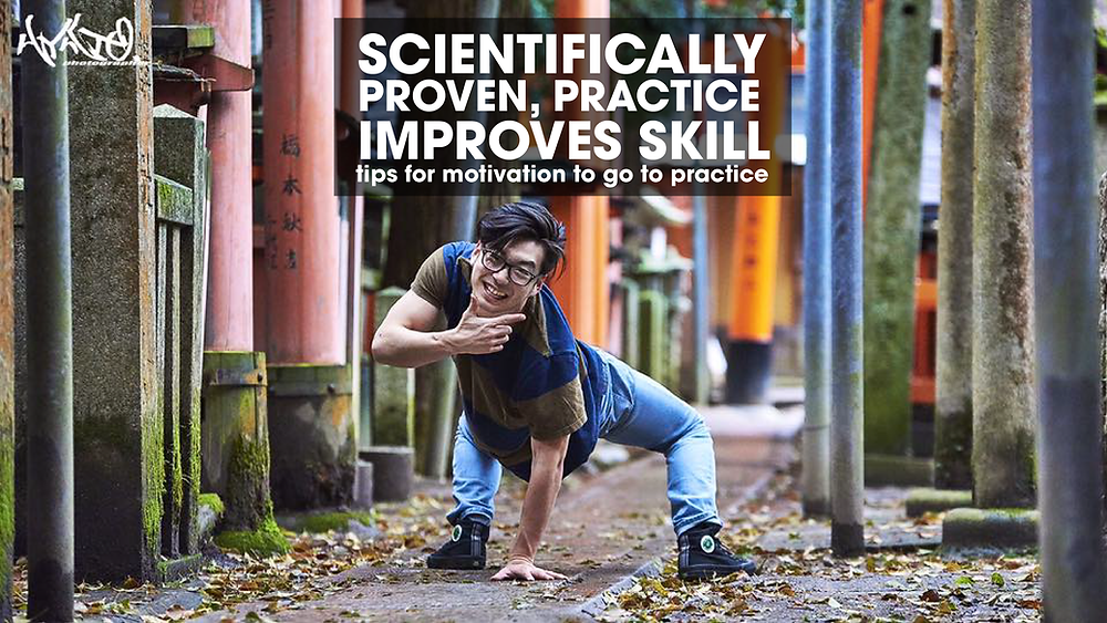 Scientifically proven, practice improves skill