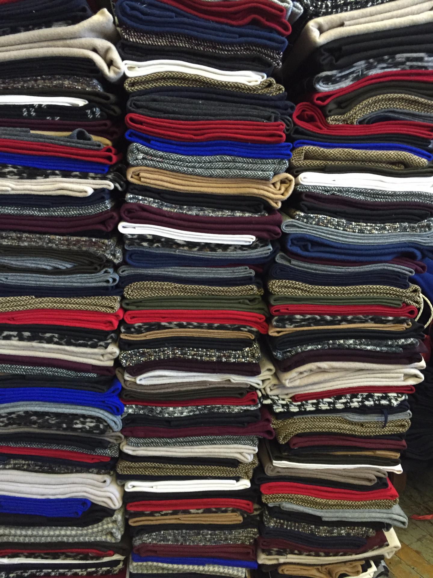 Wool Coating Remnants 1-2's