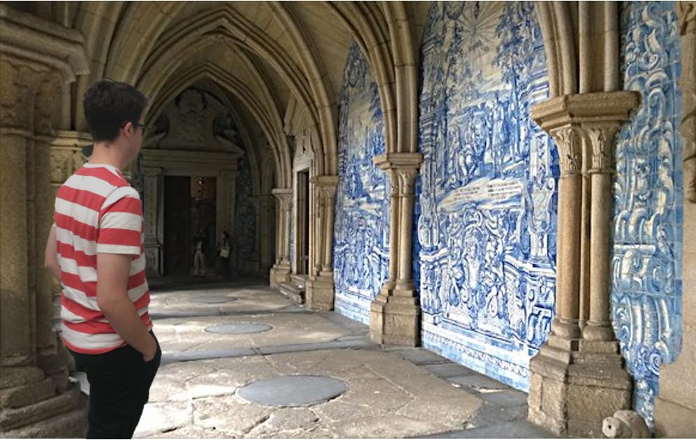 Sander in de kerk