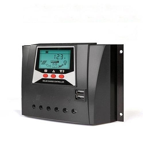 60A Solar Şarj Kontrol Cihazı 12V/24/48V Juta Lcd Ekran