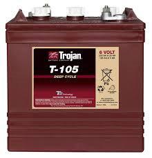 Trojan T 145, 6V-260Ah Deep Cycle Akü