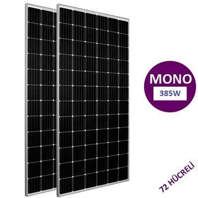 385 Watt Monokristal Güneş Paneli Lexron