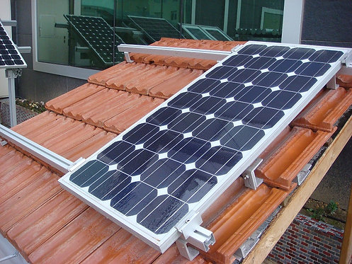 Güneş Paneli Kiremit Çatı Ayakları 2500W