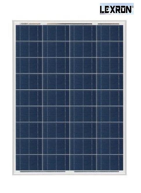 80 Watt Polikristal Güneş Paneli Lexron