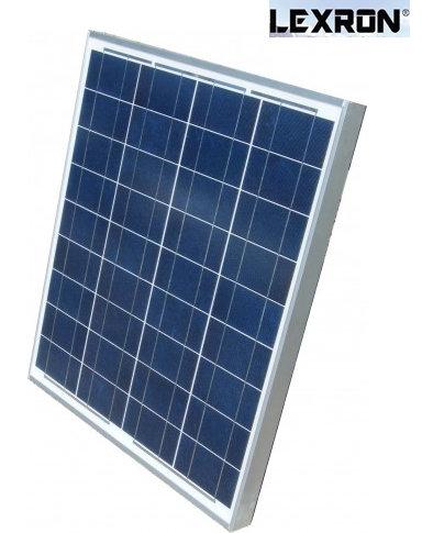 42 Watt Polikristal Güneş Paneli Lexron