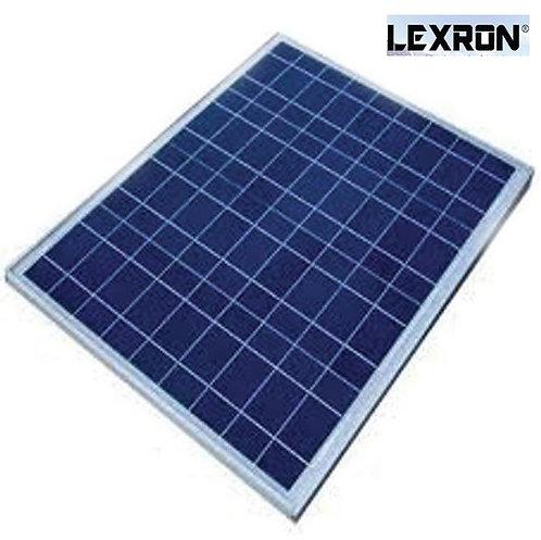 60 Watt Polikristal Güneş Paneli Lexron