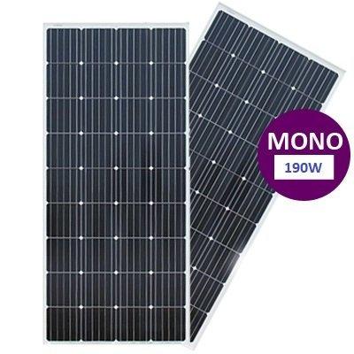 190 Watt Monokristal Güneş Paneli Lexron