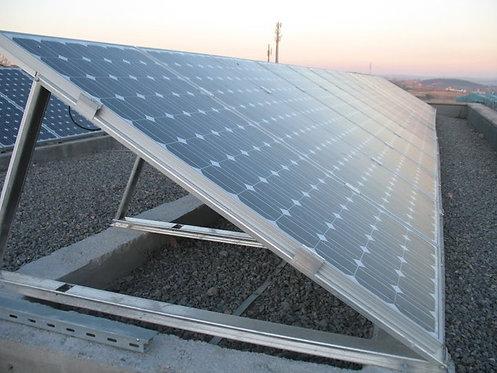 Düz Çatı Solar Panel Kurulum Ayakları 4x100 Watt Panele Uygun