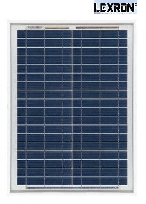 20 Watt Polikristal Güneş Paneli Lexron