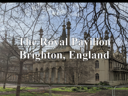 The Royal Pavilion in Brighton, UK