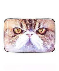 White Face Cat Armored Wallet