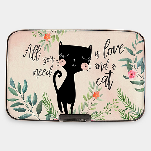 Cat Love Armored Wallet