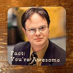 Fact: You're Awesome Coaster