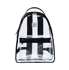 Herschel Supply Co. Nova  Mid Blk/Clear Backpack