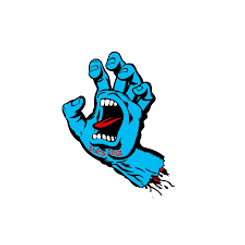 Santa Cruz  Small Screaming Hand Sticker