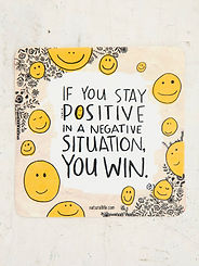 Positive ~Vinyl Sticker