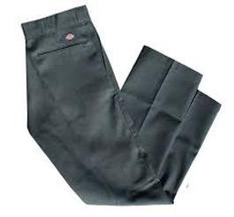 Dickies Regular Straight Leg Work Pants Charcoal
