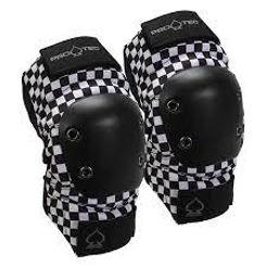 PRO TEC Street Gear Checker Elbow Pad Set