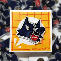 Soup Cat Pin