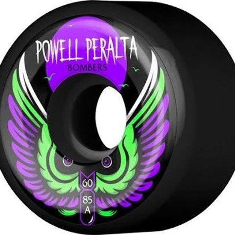 Powell Peralta Bomber III 60mm 85a Black