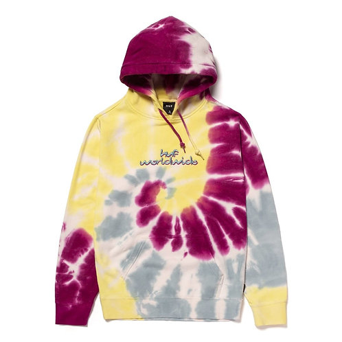 Huf Chemistry Pullover Hoodie White