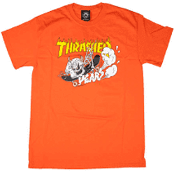 Thrasher 40 Years Neckface T-Shirt Orange