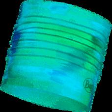Buff CoolNet UV+ Multifunctional Headband Marbled Turquoise