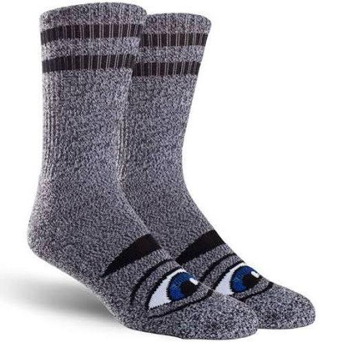 Toy Machine Sect Eye Sock Heather Grey