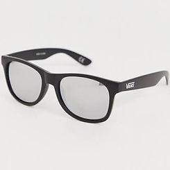 Vans Spicoli Sunglasses Matte Black Mirror