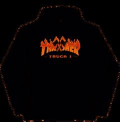 Thrasher Truck 1 Hoodie Black