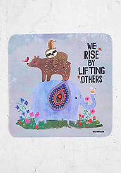 We Rise~Vinyl Sticker