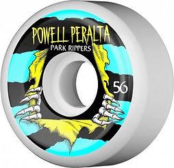 Powell Peralta Park Ripper 2 56mm 104a White