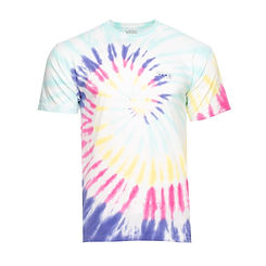 Vans Drop V Spiral Tie Dye Tee Rainbow