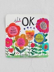 It's Ok To Make Mistakes ~ Vinyl Sticker