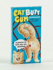 Blue Q Cat Butt Gum