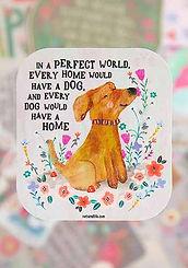 In a Perfect World ~Vinyl Sticker